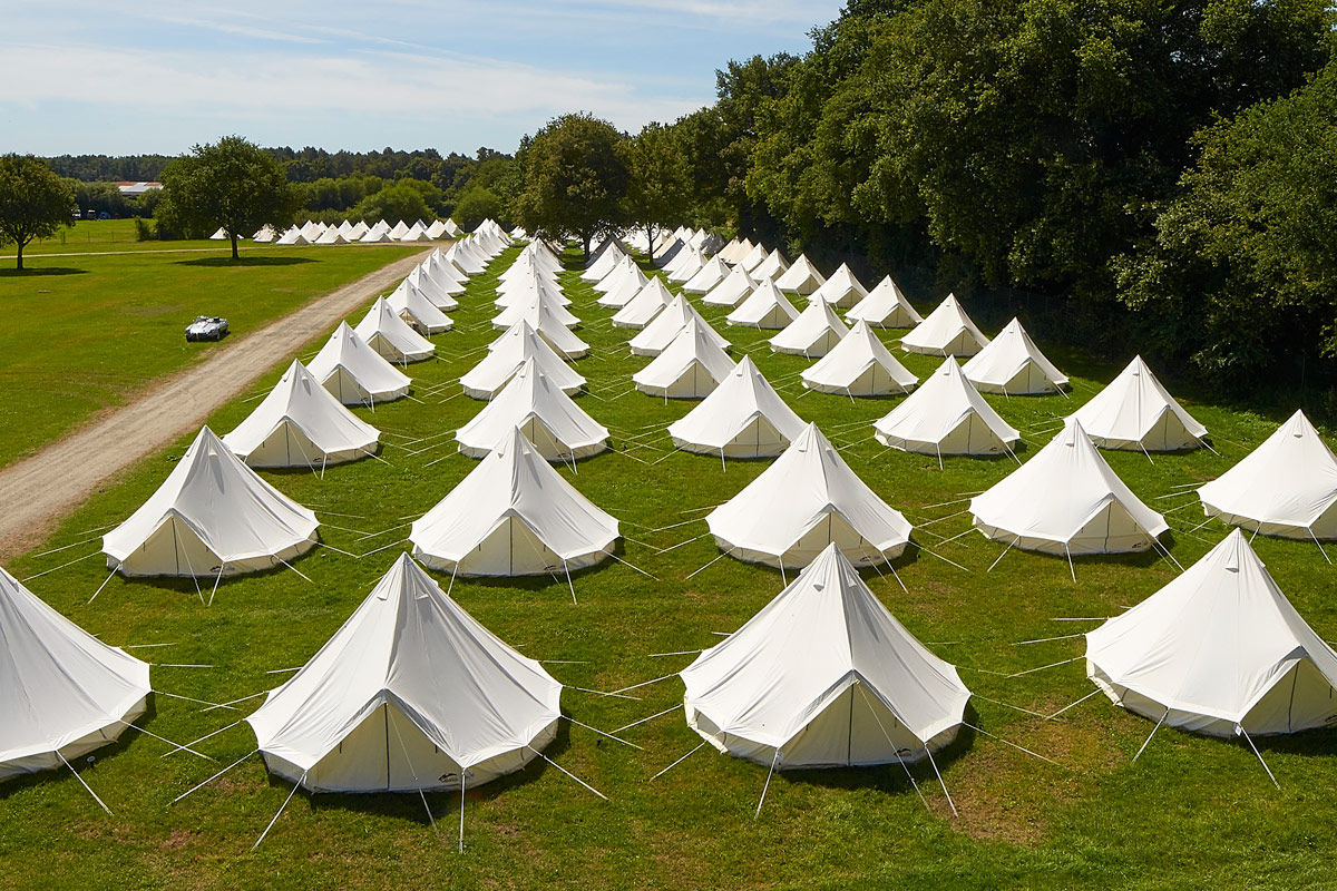 Ex-Hire Luxury Bell Tents for Sale